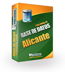 Base de datos Empresas Alicante