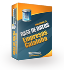 Base de datos Empresas Cataluña